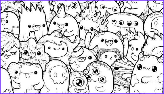 extravagant coloring pages kawaii page food crush cute cat unicorn