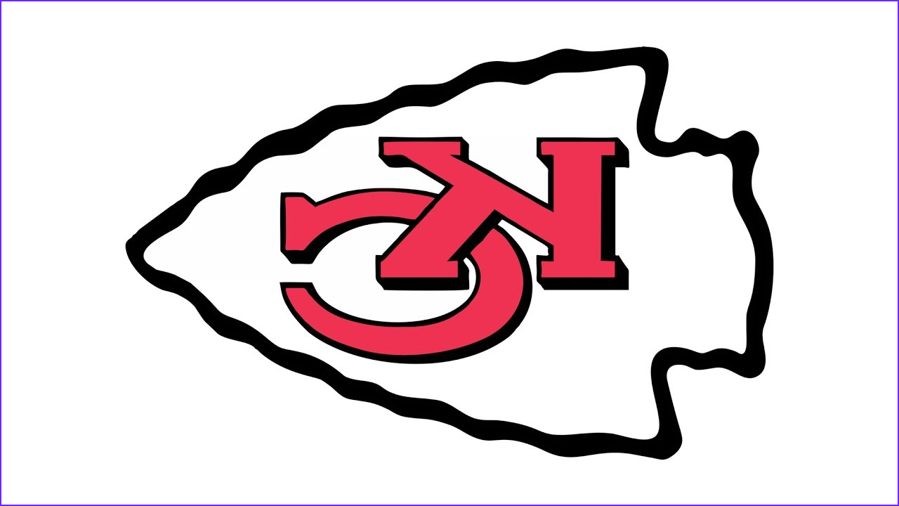 Kc Chiefs Coloring Page Inspirational Gallery How to Draw the Kansas City Chiefs Logo Nfl