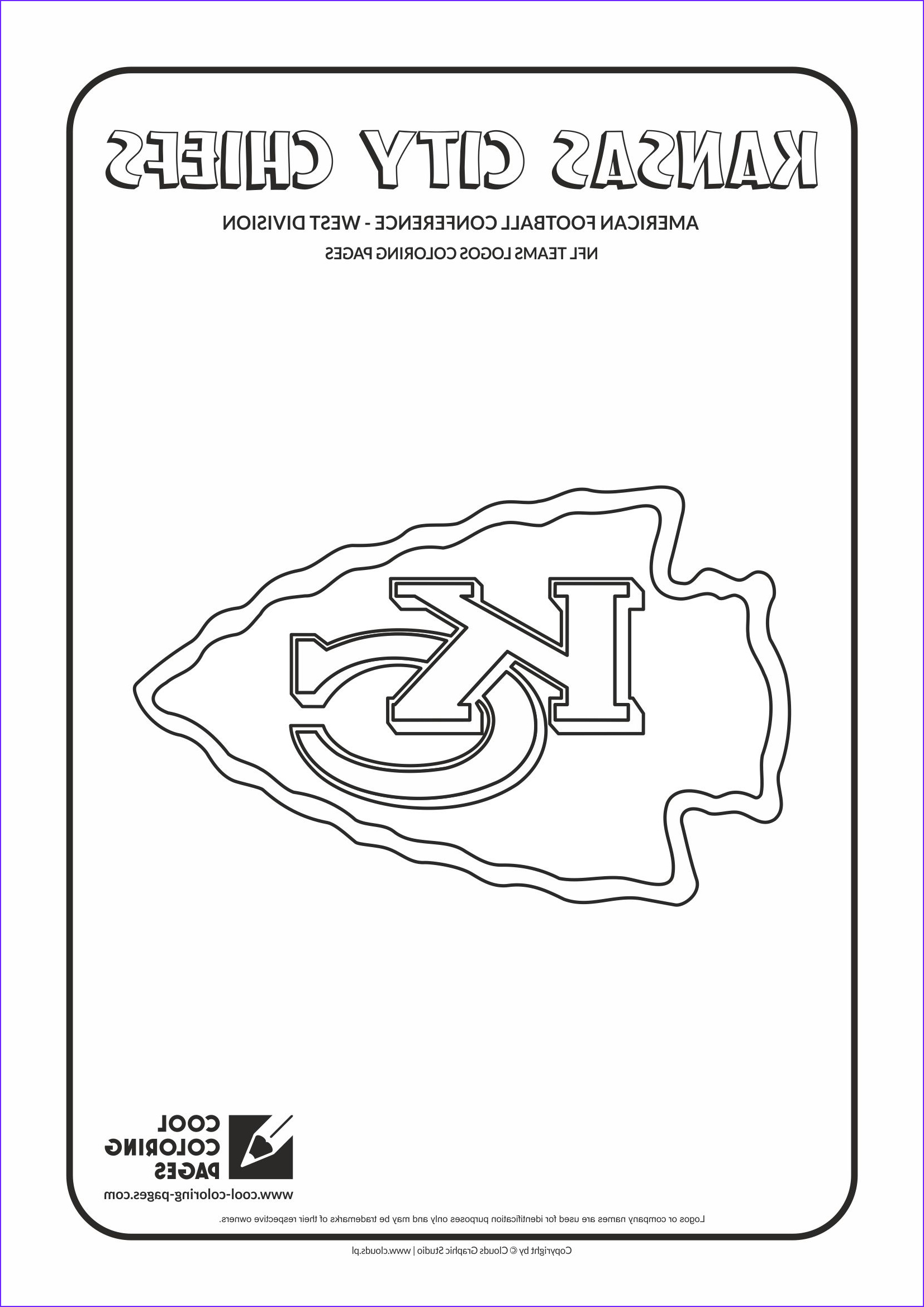 Kc Chiefs Coloring Page Luxury Collection Cool Coloring Pages Nfl Teams Logos Coloring Pages Cool