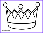 king crown coloring page sketch templates
