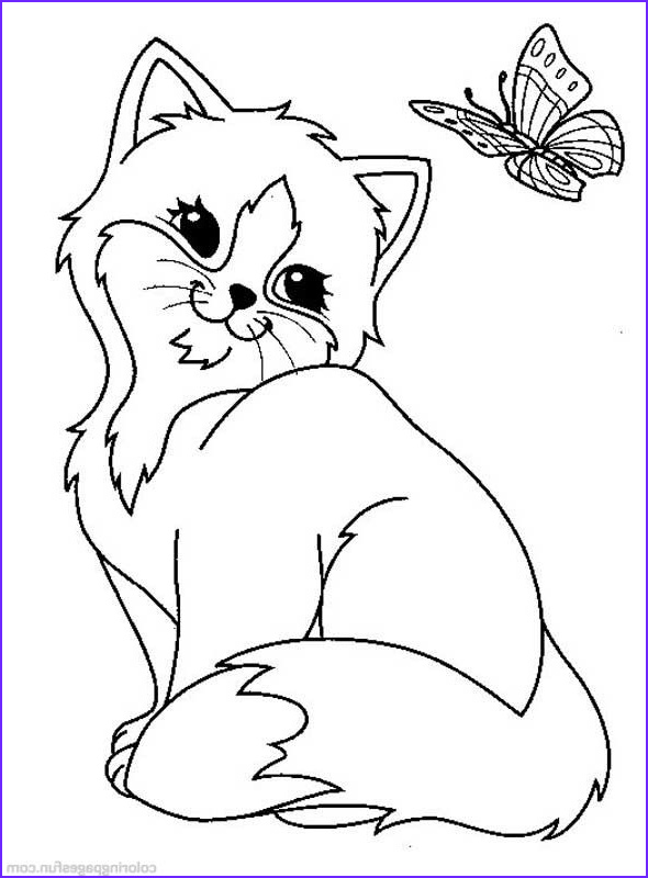 Kitten Coloring Picture Inspirational Photos Cats and Kitten Coloring Pages 34 Kids