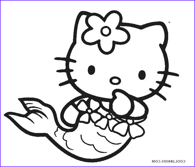 Kitty Coloring Picture Beautiful Collection Free Printable Hello Kitty Coloring Pages for Pages