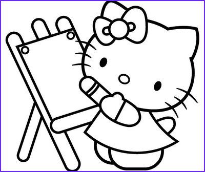 Kitty Coloring Picture Beautiful Photos Hello Kitty Coloring Pages