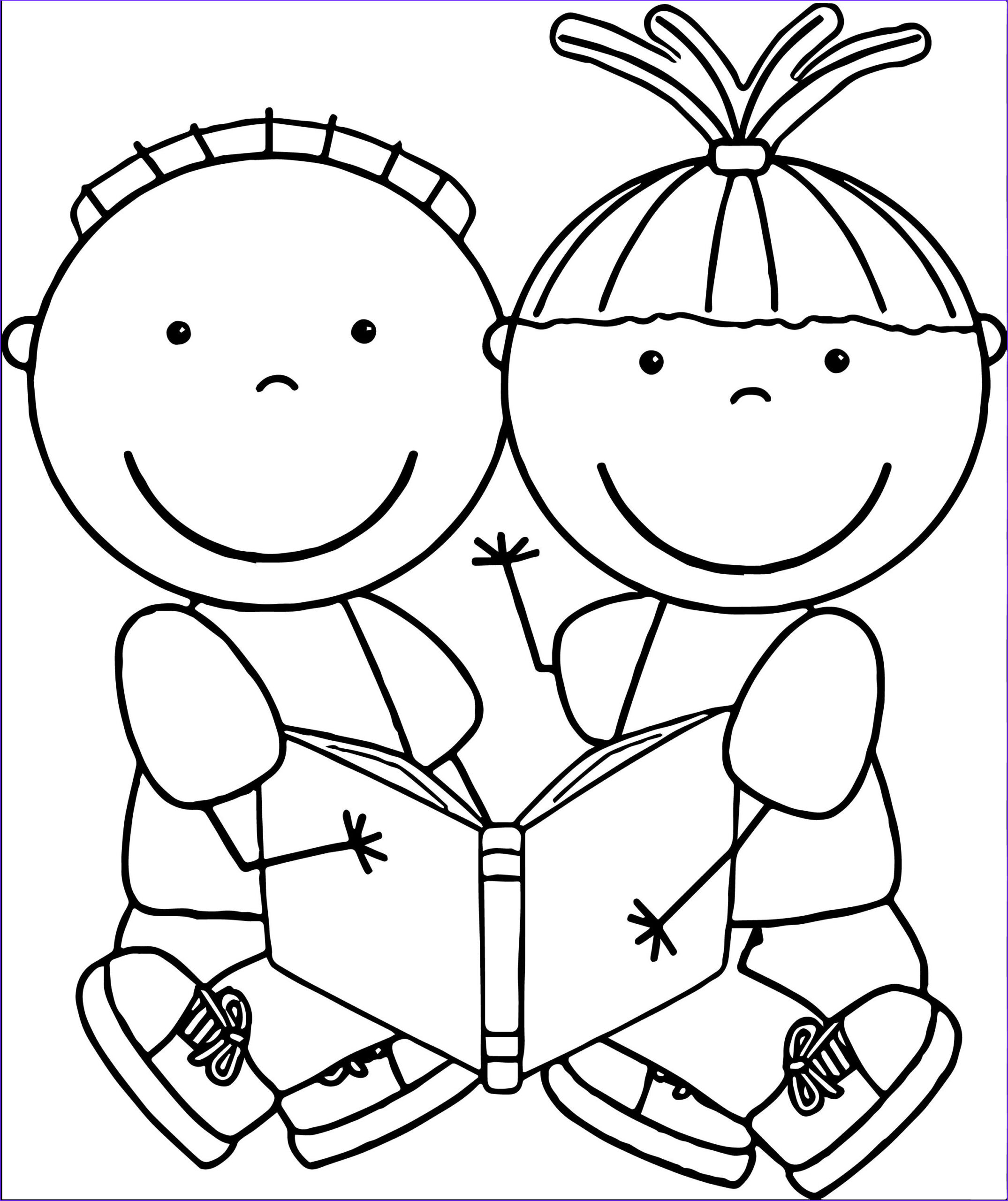 Learning Coloring Page Best Of Images Free Educational Clipart Free Clip Art Children Reading