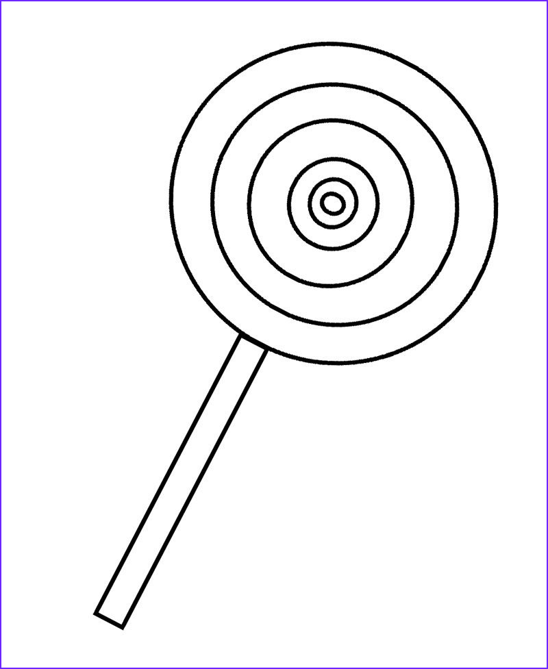Lollipop Coloring Page Beautiful Photos Painting Party Sketch On Canvas Party Ideas