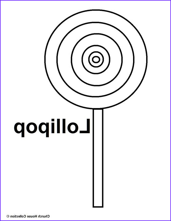 Lollipop Coloring Page Cool Collection Easy Coloring Pictures Lipop Google Search