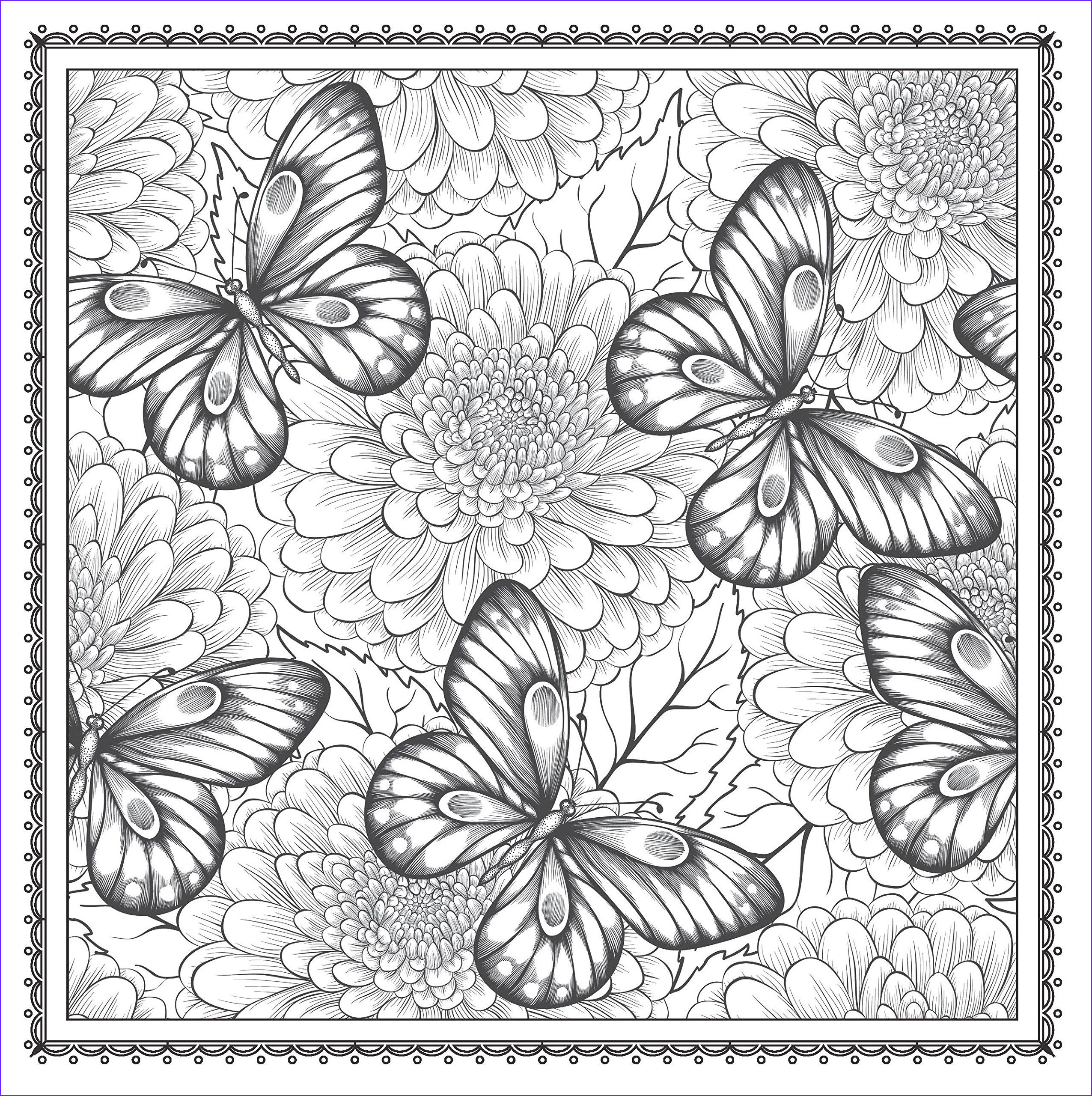 Magical Garden Coloring Book Awesome Photos Amazon Blossom Magic Beautiful Floral Patterns