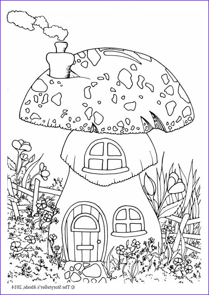 garden gnomes coloring for adults art pages