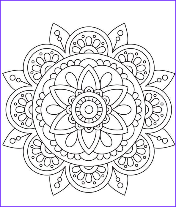 Mandala Coloring Therapy Best Of Gallery Color Therapy Coloriage Coloriage Mandala Peace