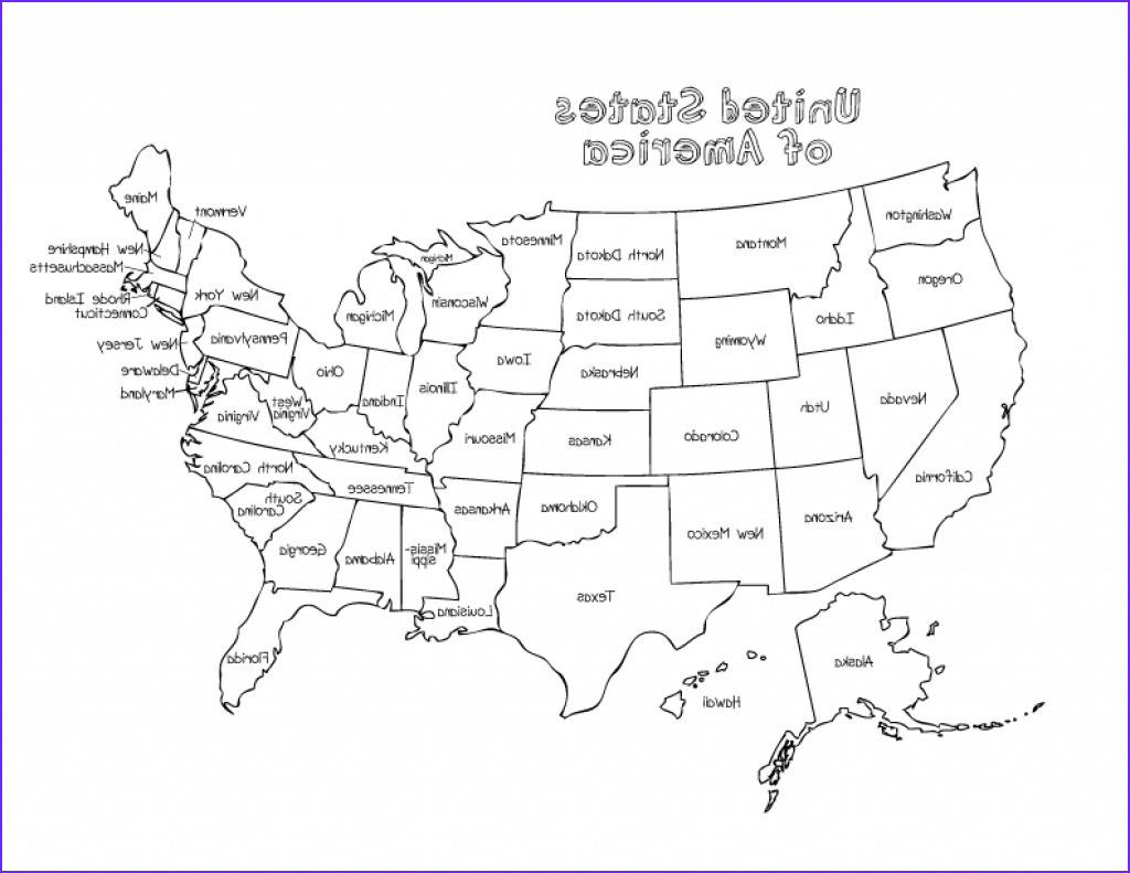 map of the united states with state names and capitals and travel printable united states map with state names to color
