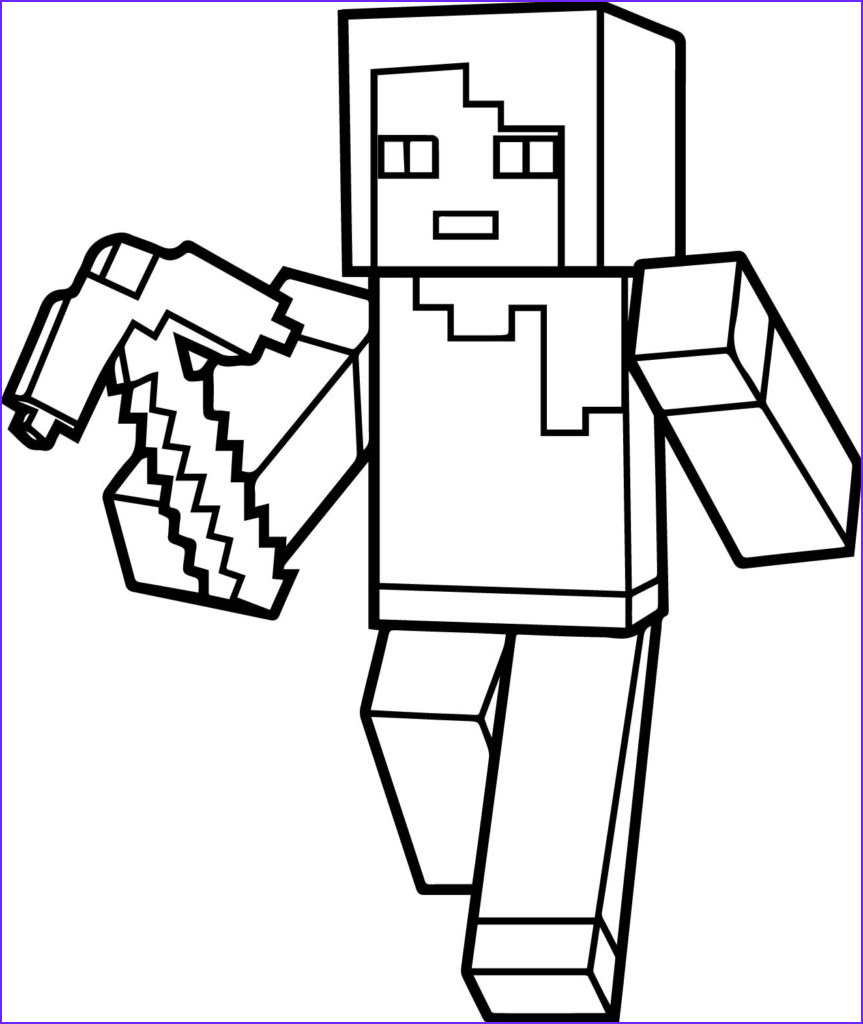 Minecraft Coloring Page Creeper Inspirational Photos Minecraft Drawing Creeper at Getdrawings