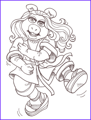 Miss Piggy Coloring Page Awesome Photos Miss Piggy S Karate Chops Muppet Wiki