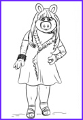 Miss Piggy Coloring Page Luxury Stock Muppet Babies Baby Animal Coloring Page
