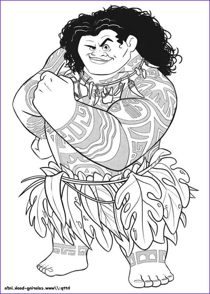 free moana coloring pages to print dh84l