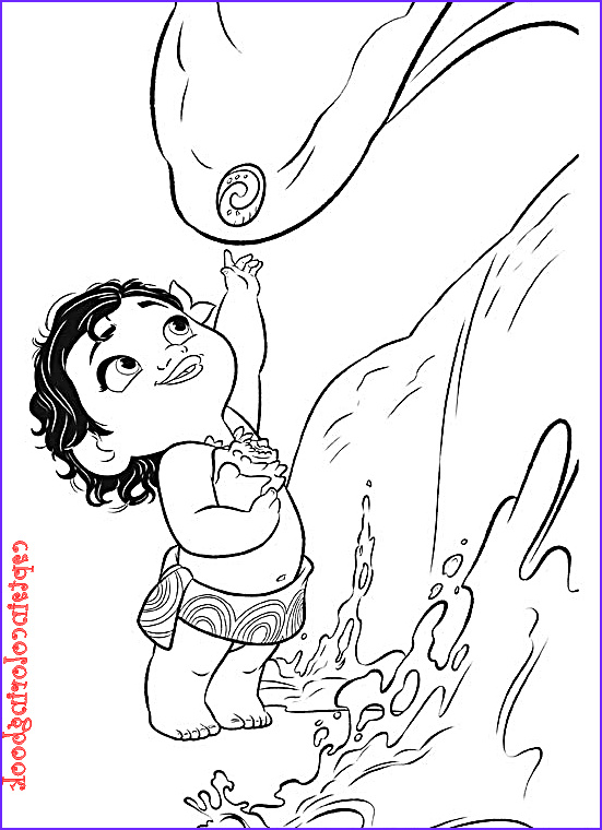 moana coloring pages printable sketch templates