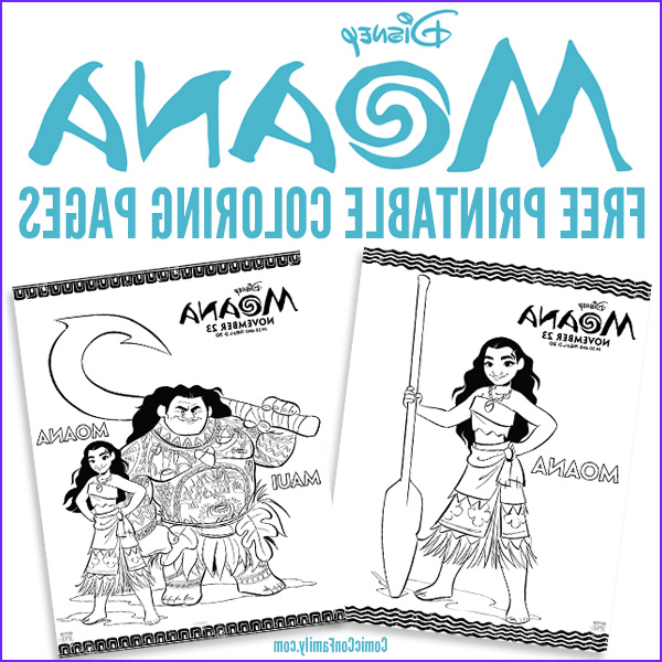 Moana Coloring Page Printable Beautiful Stock Free Printables Disney Moana Coloring Pages Ic Con