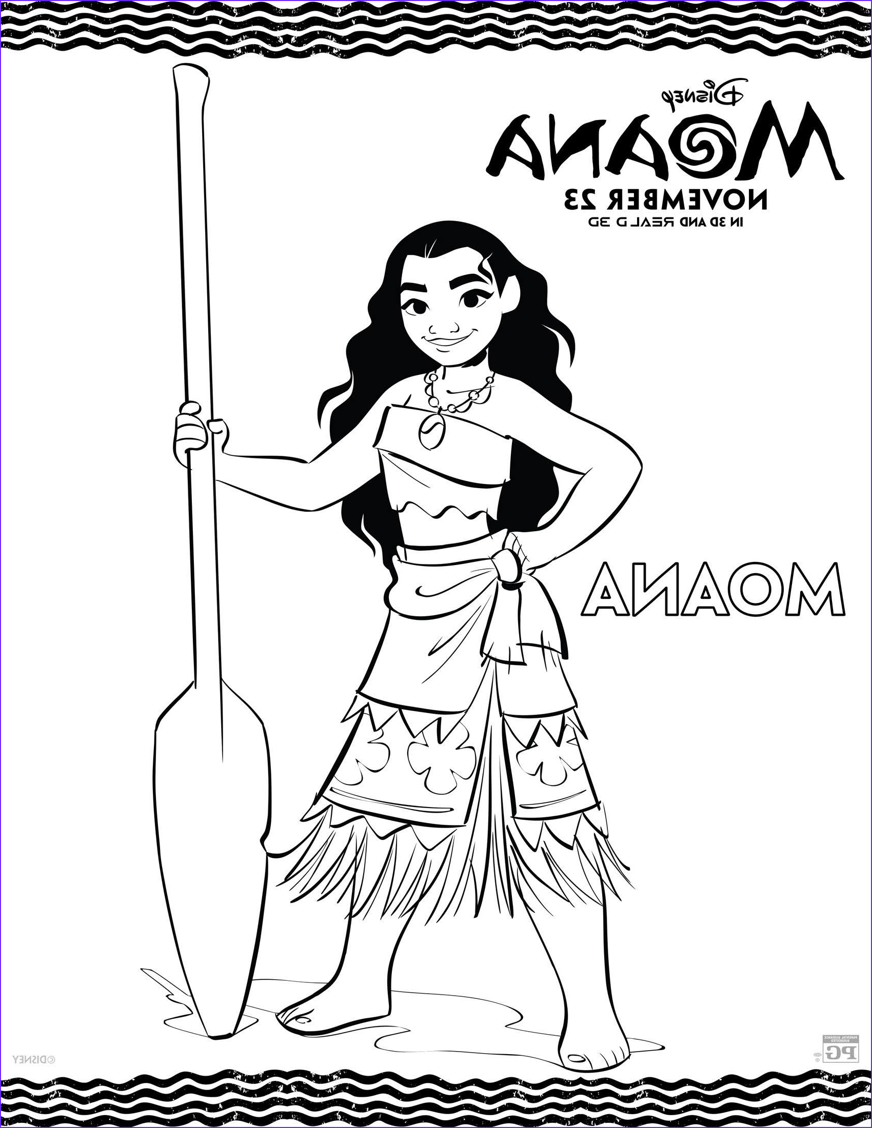 Moana Coloring Page Printable Unique Photos Disney S Moana Movie Review and Free Printable Coloring