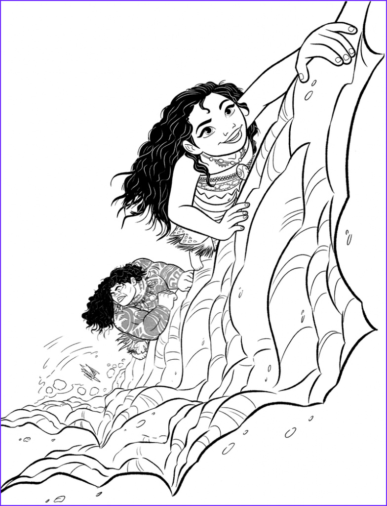Moana Coloring Page Unique Gallery 35 Printable Moana Coloring Pages