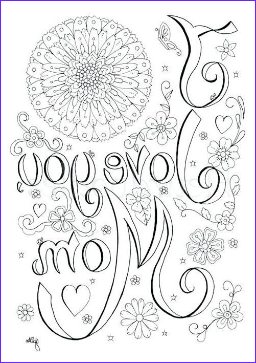 mommy and me coloring pages