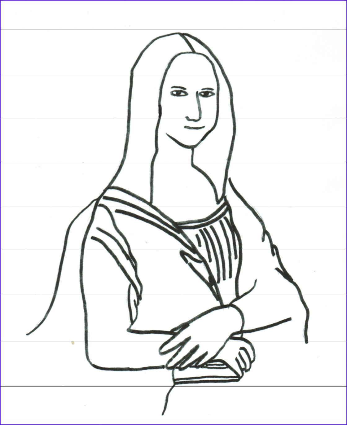 Mona Lisa Coloring Sheet Unique Images Great Artist Coloring Pages Half A Hundred Acre Wood
