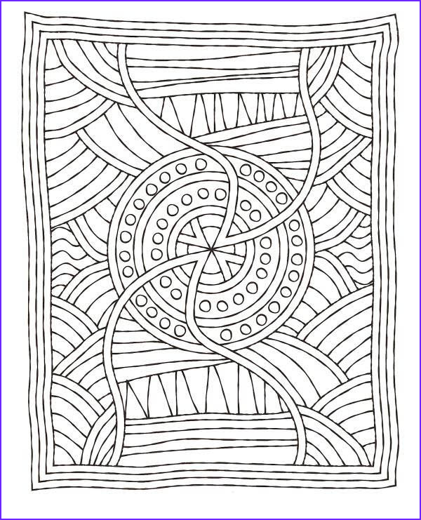 Mosaic Coloring Page Cool Image Mosaic Matress Coloring Page Download & Print Line