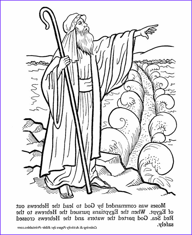 Moses Parts The Red Sea Coloring Page Best Of Gallery 91 Best В Ш 4 Моисей Images On Pinterest