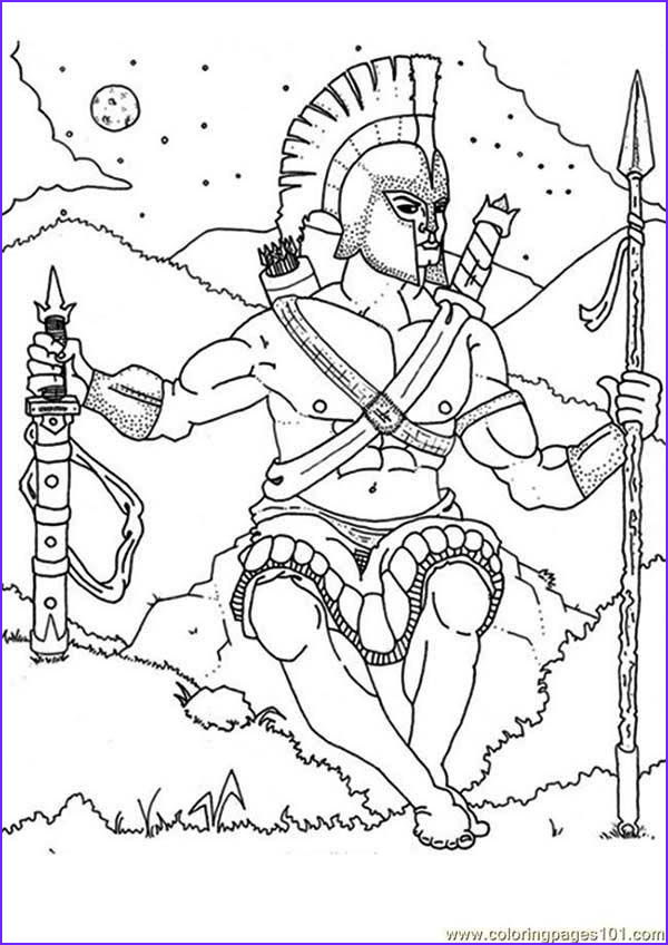 Mythology Coloring Book Cool Collection Ancient Roman War Coloring Pages Coloring Home