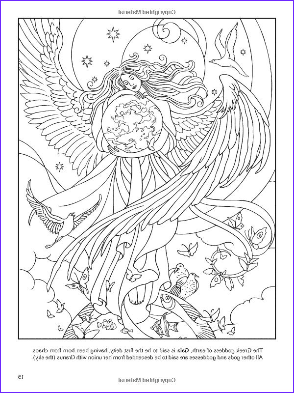 Mythology Coloring Book Cool Gallery 17 Best Images About Goddess Coloring Pages On Pinterest