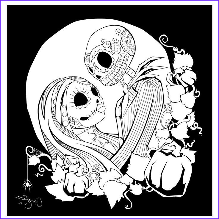 Nightmare before Christmas Coloring Page New Photos 96 Besten the Nightmare before Christmas Bilder Auf