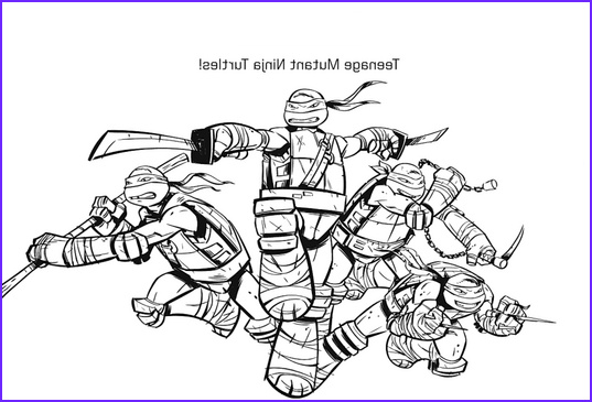 Ninja Turtle Free Coloring Page Best Of Images Paper Coloring Pages Ninja Turtles 2014 Printables
