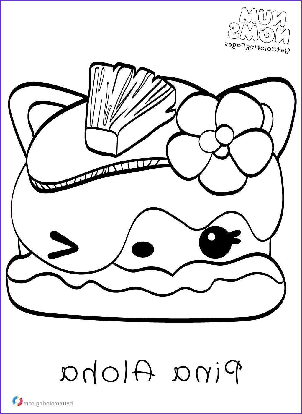 Nom Nom Coloring Page Best Of Image Num Noms Printable Coloring Pages