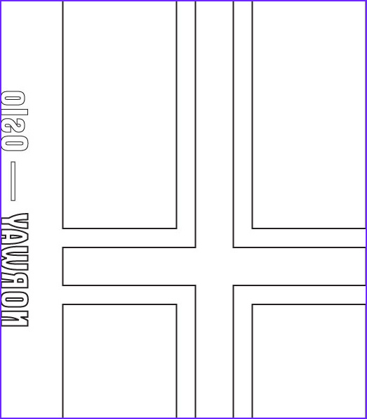 Norway Flag Coloring Page Awesome Collection norway Flag Coloring Page Bltidm