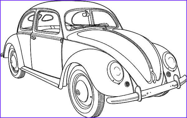 Old Cars Coloring Page Luxury Gallery Classic Car Collector Beetle Car Coloring Pages