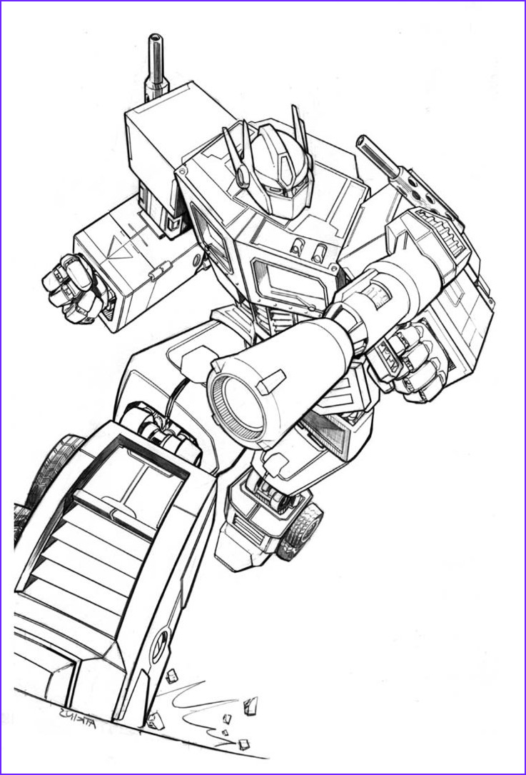 Optimus Prime Coloring New Images Free Printable Transformers Coloring Pages for Kids