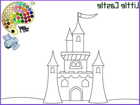 Palace Coloring Page Best Of Photography Castle Coloring Pages for Kids Castle Coloring Pages
