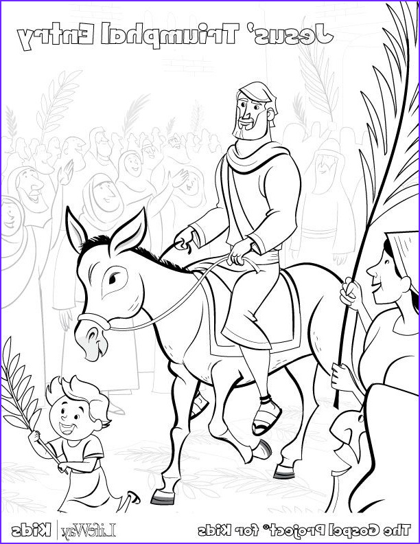 Palm Sunday Coloring Page Free Cool Photos Free Easter Activity Pages Easter