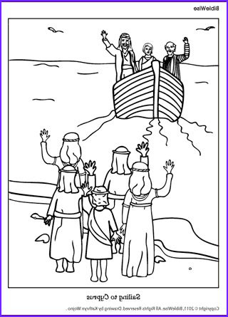 paul and barnabas coloring pages sketch templates