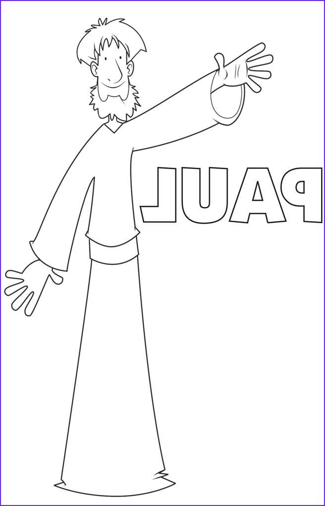 Paul and Barnabas Coloring Page Best Of Gallery Paul Free Coloring Pages