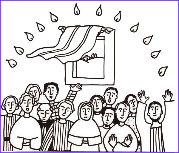 Pentecost Coloring Page Beautiful Gallery Pentecost Day for All Jesus Follwers Coloring Page