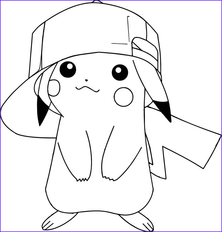 Pikachu Coloring Page Printable Awesome Stock Perfect Pokemon Coloring Pages Lol Pinterest