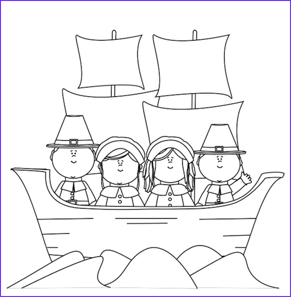 Pilgrim Coloring Page Free Inspirational Photography Thanksgiving Coloring Pages