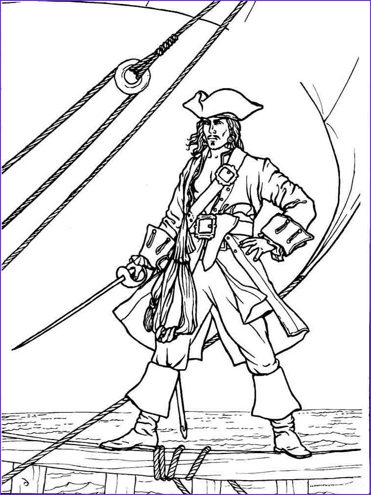 Pirate Coloring Page for Adults Awesome Photos Pirates Coloring Pages Download and Print Pirates