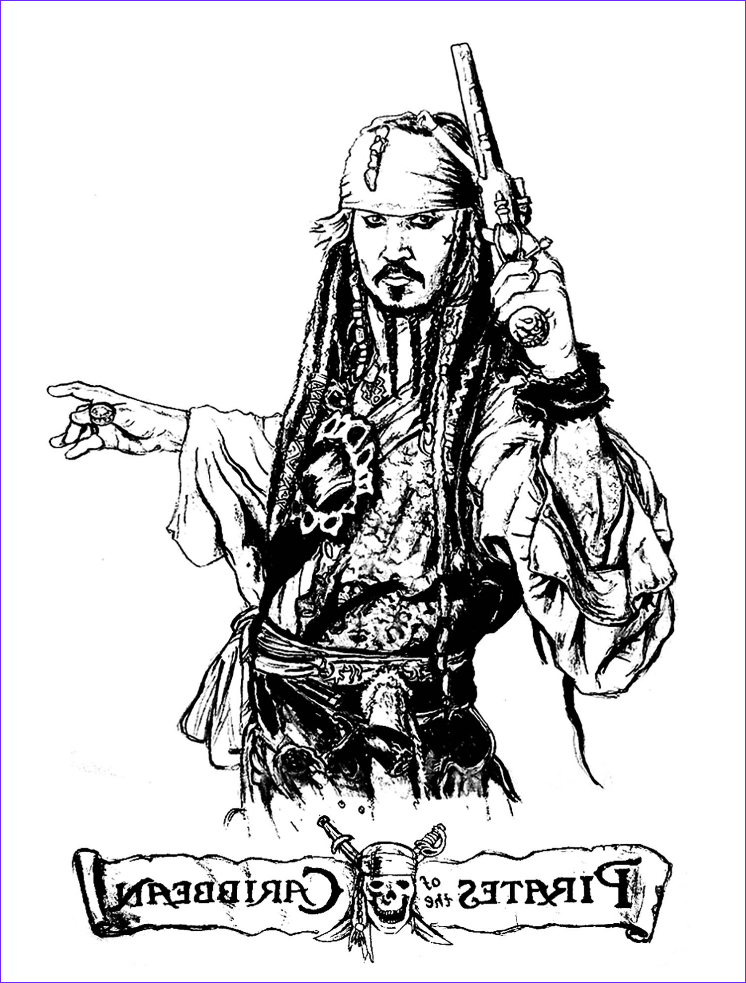 Pirate Coloring Page for Adults Luxury Collection Pirates Of the Caribbean Movies Adult Coloring Pages