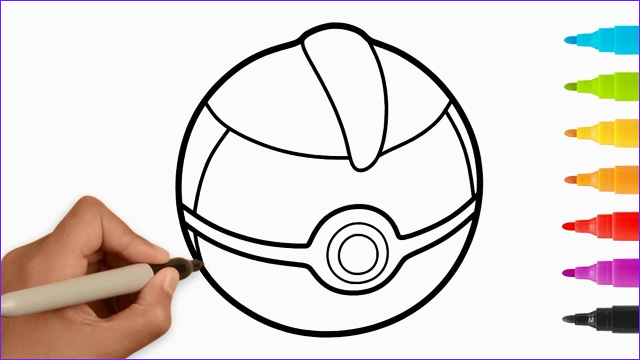 Pokeball Coloring Page Luxury Stock Pokemon Pokeballs Coloring Pages for Kids