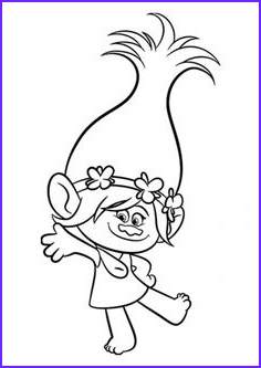 Poppy Coloring Page Trolls Best Of Images Princess Poppy From Trolls Coloring Page