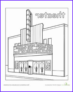 Post Office Coloring Page Unique Image Paint The Town Post Fice