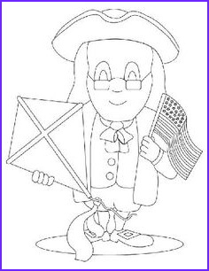 Presidents Day Coloring Page Preschool Cool Photography Ben Franklin On Pinterest