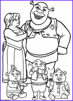 Princess Fiona Coloring Page Awesome Stock Shrek Coloring Pages