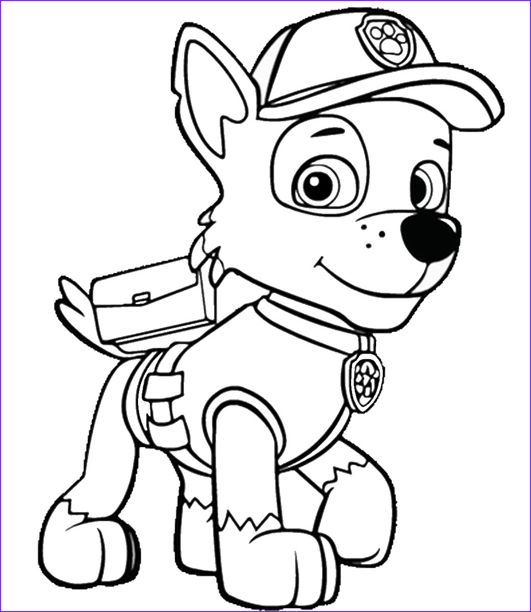 Print Coloring Page Inspirational Photos Paw Patrol Coloring Pages – Birthday Printable