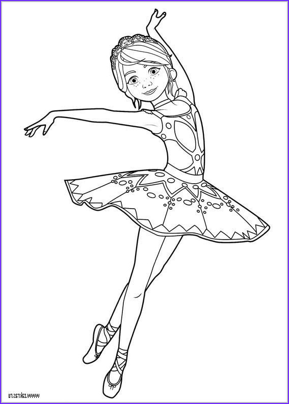 Printable Ballerina Coloring Page Best Of Photos Ballerina Coloring Page Coloring